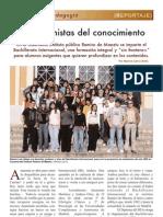 """""""Inconformistas del conocimiento"""" (Reportaje)"""