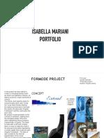 ISABELLA MARIANI Portfolio
