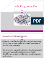 Lenguajes de Programación Presentacion