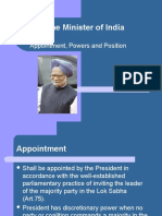 Prime Minister of India.ppt