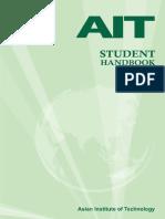 AIT Student Handbook 2014