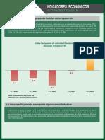 Indicadores Economicos - IV Trimestre 2015