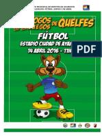 Documento Orientador Futebol
