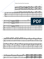 StarTrekFE - Score and Parts