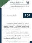 Contestação LL Silva Akuazu X Lorenzo Del Parco