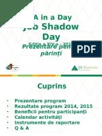 JSD 2016-Prezentare PARINTI