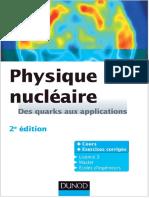 Physique Nucleaire Des Quarks Aux Applications