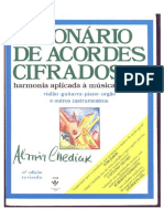 Almir Chediak Dicionario de Acordes