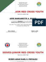 JRCY Certificate
