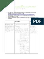 ogp3 format voor sterktezwakteanalyse bij lessen taal spellen