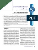 Enfermagem e a Prevenção Da Toxoplasmose