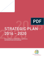 Global Donor Platform for Rural Development Strategic Plan 2016-2020