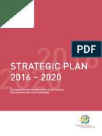 Global Donor Platform for Rural Development Strategic Plan 2016-2020
