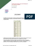 Autofiltros y Filtros Avanzdos