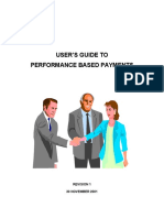 User's Guide to Performance Based Payments Nov 1