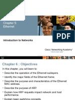 ITN InstructorPPT Chapter 5 Cisco