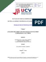 Analisis de Mercado-microeconomía