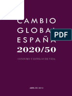 CAMBIO GLOBAL ESPAÑA