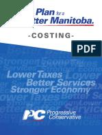 Manitoba PC 2016 Platform costing document