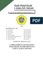 Laporan Tetap 13 - Analisis Air (Kesadahan)
