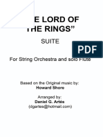 246178641 the LORD of the RINGS SUITE for String Orchestra Howard Shore Daniel G Art s