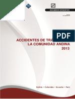 Accidentabilidad en La Comunidad Andina