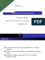 Medición de La Sustentabilidad y AHP