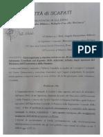 Interrogazione su relazione MEF