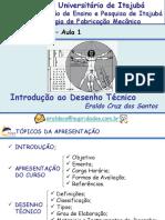 Desenho Técnico - FEPI - 1 Aula - Introdução Ao Desenho Técnico