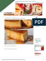 Tarta de Queso y Castañas (Chesnut Cheesecake)-Corazón de Almíbar