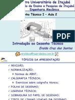 Desenho Técnico I - FEPI - 2 Aula - Introdução Ao Desenho Técnico I