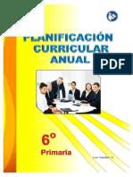 Programación curricular 6° grado