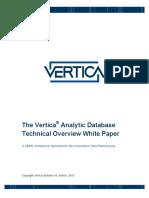 VerTica Architecture
