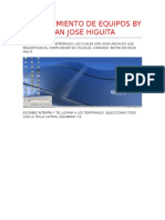 Mantenimiento de Equipos by Jjhg