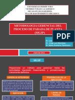 Metodologia Gerencial Del Proceso de Parada de Planta