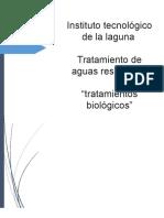 Procesos Biologicos en El Tratamiento de Aguas Residuales