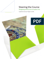 Steering the Course - Navigating bribery and corruption risk