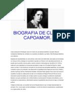 BIOGRAFIA DE CLARA CAPOAMOR.doc