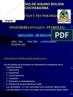 Geologia de Bolivia Sirve Walter 2016 Pptx