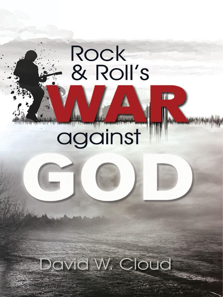 Rock and rolls war against god jesus rock music fandeluxe Choice Image
