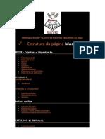 estrutura página moodle