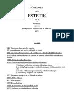 FÖRSKOLE Den ESTETIK 02 Svenska Gustav Theodor Fechner