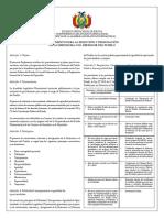 Reglamento para la selección y designación de la Defensora o el Defensor del Pueblo de Bolivia