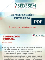 2. Unidad II - Cementación Primaria