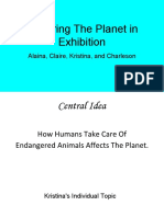 endangered animals  finite resources