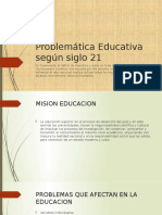 Problematica Educativa Universidad Rural