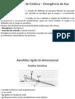 02 Aeroelasticidade Estática – Divergência da Asa.pdf
