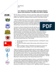 Burma's democracy and ethnic rights movement welcomes European Union statement on elections and call for dialogue