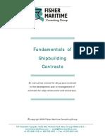 Ship Building Contractfundamentals