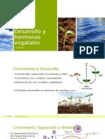 Desarrollo y Hormonas Vegatales 1